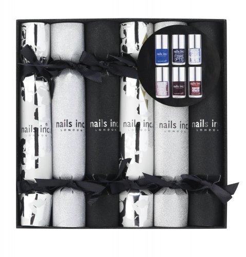 nails inc xmas cracker set 6 full size bottles - half price at Amazon