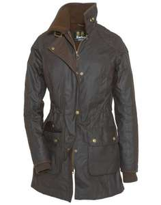 Womens Barbour Stockyard Waxed Jacket £139.50 incl.P&P at Tucci