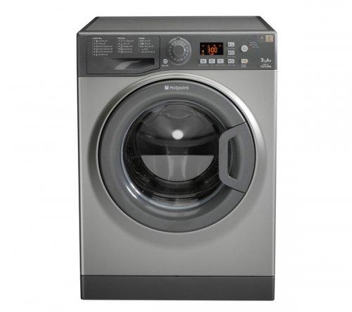 HOTPOINT WMFG 741G Washing Machine - Graphite £229 @ CURRYS