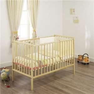 Brand New Baby Cot with Free Memory Foam Mattress £39.97 + £4.95 delivery @ Bambino Direct