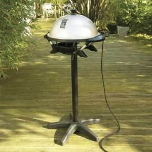 George Foreman Indoor Outdoor Electric BBQ Grill ** £10** TESCO NATIONWIDE