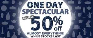 Denby 1 Day Sale - 50% off almost everything, free delivery with £30 spend