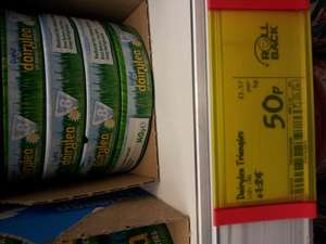 dairylea 8 triangles only 50p @ asda