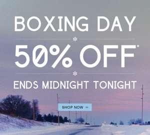 @Bench Hurry 50% Off Sale Ends Midnight Boxing Day