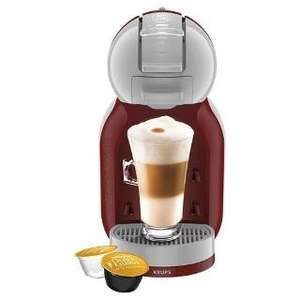 Nescafe Dolce Gusto Mini Me Red & Arctic Grey Multi Beverage Coffee Machine £44.50 @ Tesco direct