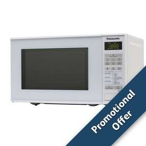The best value microwave under fifty quid Panasonic NN-E271WMBPQ £48 from SSE with free delivery and an additional 10% off for SSE energy customers