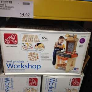 Step 2 kids tool bench £17.96 at Costco