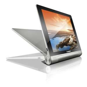 Lenovo Yoga Tablet 8 Quad Core 1GB 16GB 8 inch Android 4.2 Jelly Bean Tablet in Silver - Normally £199 - £177.97 + £30 cashback @ laptopsdirect