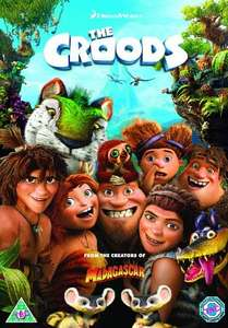 The Croods DVD £7.00 with free Delivery @ Amazon