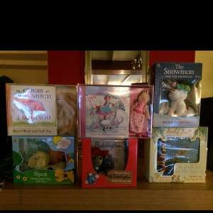 Book and toy gift sets £2.50 at tesco