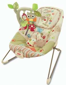 Fisher Price Woodsy Bouncer, down to £17.99 at Amazon!