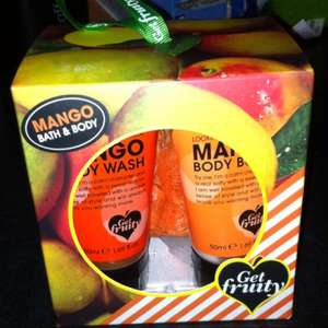 Mango/lemon bath and body gift sets now 76p @morrisons
