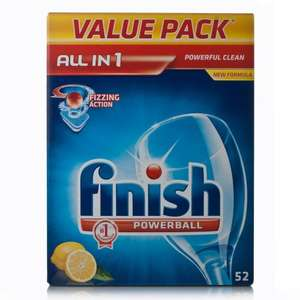 Finish all in one 52 tablets for £3.99 from Lidl less than 10p per wash