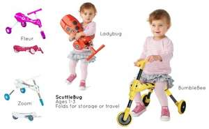 Scuttlebug Ladybird (Red) & Bumblebee (Yellow) Only £10 instore at Halfords, Reduced from £30, still £15 Online