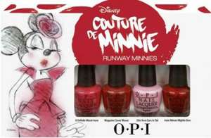 OPI Runway Minnies Mini Pack £6.97 delivered at Bath and Unwind