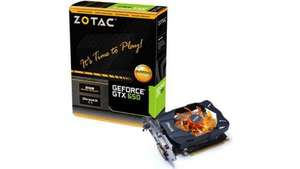 Zotac nVidia GeForce GTX 650 Gaming Graphics Card GDDR5 DVI HDMI VGA 1GB - £70.55 & £6.00 P&P @ ILGS