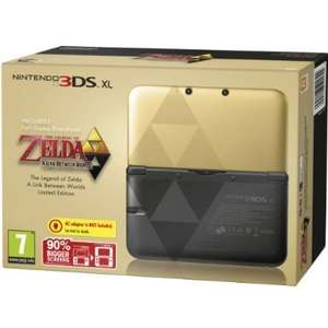 legend of zelda 3ds xl limited edition - £180 @ Amazon
