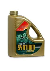 Petronas SYNTIUM 5000 RN - 5W30 Synthetic Motor Oil 5 Litre Bottle £12.12 Delivered @ Amazon