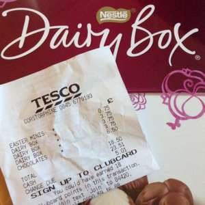 Nestlé dairy box 750g. £3.75 down from £15 at Tesco