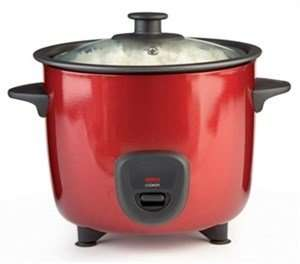 1 Litre Red Rice Cooker for £8.99 @ 24Studio + £4.99 (delivery)
