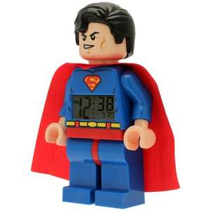 Lego Darth Vader, Yoda and Superman alarm clocks £7.50 instore @ sainsburys