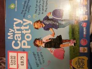 My Carry Potty £8.75 @ Mothercare instore