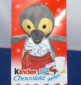 KINDER MINI'S & SOFT TOY GIFT SET TESCO £2.50