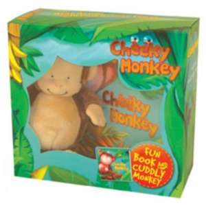 Cheeky Monkey / I Love My Kitten / I love my puppy / Snowy Tales Book & Soft Toy Gift Set Only £2.50 @ Asda direct