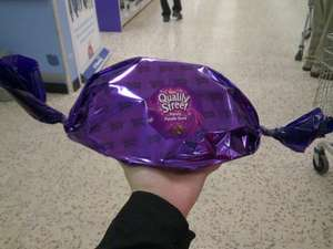 Giant Purple Quality Street 350g was £7, then £5, now £2.48 @ Morrisons instore (other choc clearance items listed + pics)