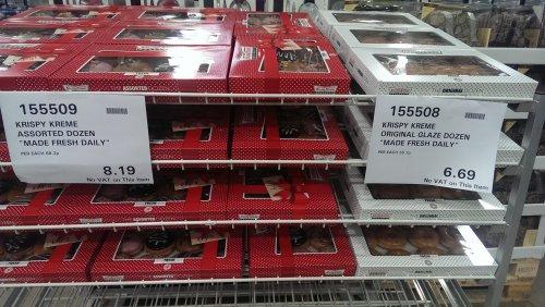 Krispy Kremes £6.69 @ costco