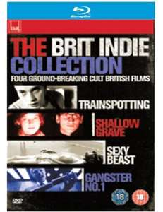 The Brit Indie Collection (4-pack) [Blu-ray] £10.25 @ Amazon includes Trainspotting, Shallow Grave, Sexy Beast and Gangster No. 1