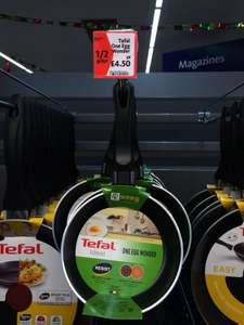 Various Tefal frying pans half price at Morrisons from £4.50 - £10