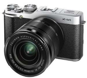 Fujifilm X-M1 Camera Kit £429.99 with £100 Cashback and £100 Amazon Credit
