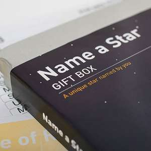 Name a star - £16.99 @ Getting Personal
