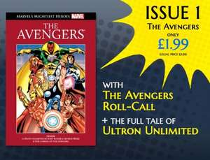 Marvel's Mightiest Heroes Graphic Novel Collection Issue 1 only £1.99 Normally £9,99 at WHSMith etc