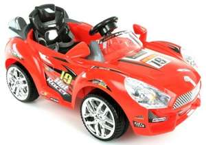Hot Racer Battery Operated 6V Electric Ride On Car for £70 RRP £199.99 @halfords