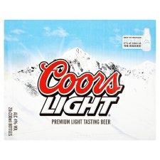 Coors Light - 20 X 330ml bottles for £10 at Tesco