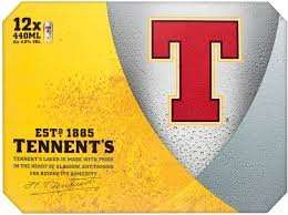 Tennents lager 12 pack £6.60 @ Tesco