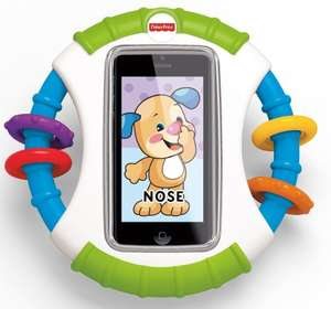 Fisher-Price Laugh & Learn iPhone Apptivity Case, £4.00 Delivered (Add On Item) @ Amazon