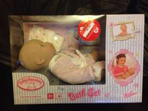 Baby Annabell bath set £2.50 asda