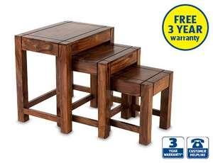 Nest Of 3 Tables Reduced Instore £29.99 @ Aldi Madeley Telford.