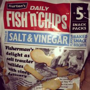 Burtons Fish N Chips 5pk £1 Asda