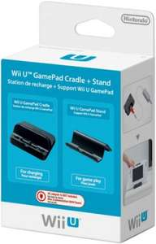Wii U GamePad Cradle + Stand - £4.98 @ PC World & Currys