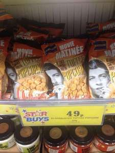 Blockbuster popcorn now 49p at home bargains