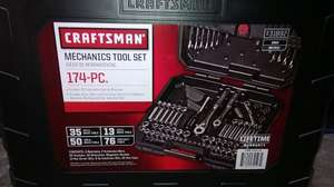 Craftsman 174 Piece Metric & Standard Mechanics Socket Set @ Costco (£83.98 instore or £94.38 online for non-members)