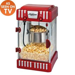 the range- large popcorn maker was £70