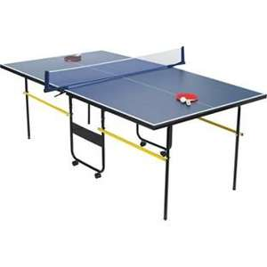 Debut ¾ Size (7ft) Indoor Table Tennis Table with extras £56.94 Delivered! @ Homebase