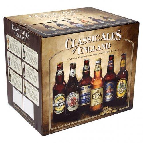 Classic Ales of England 12 x 500ml £9.99 instore @ Aldi