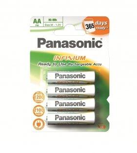 Panasonic AA Infinium Ni-Mh+ Batteries 2100MAH 4 Pack £4.20 @ Ecotronics