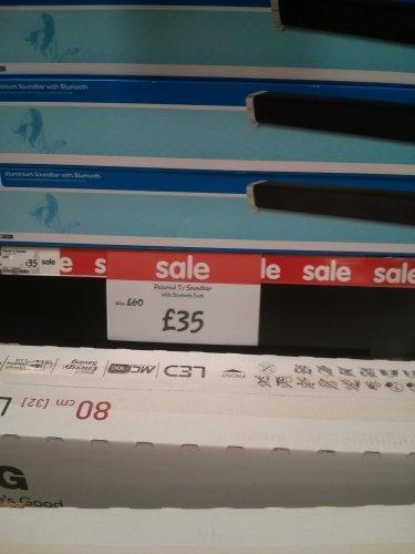 Polaroid Bluetooth Soundbar £35 @ Asda